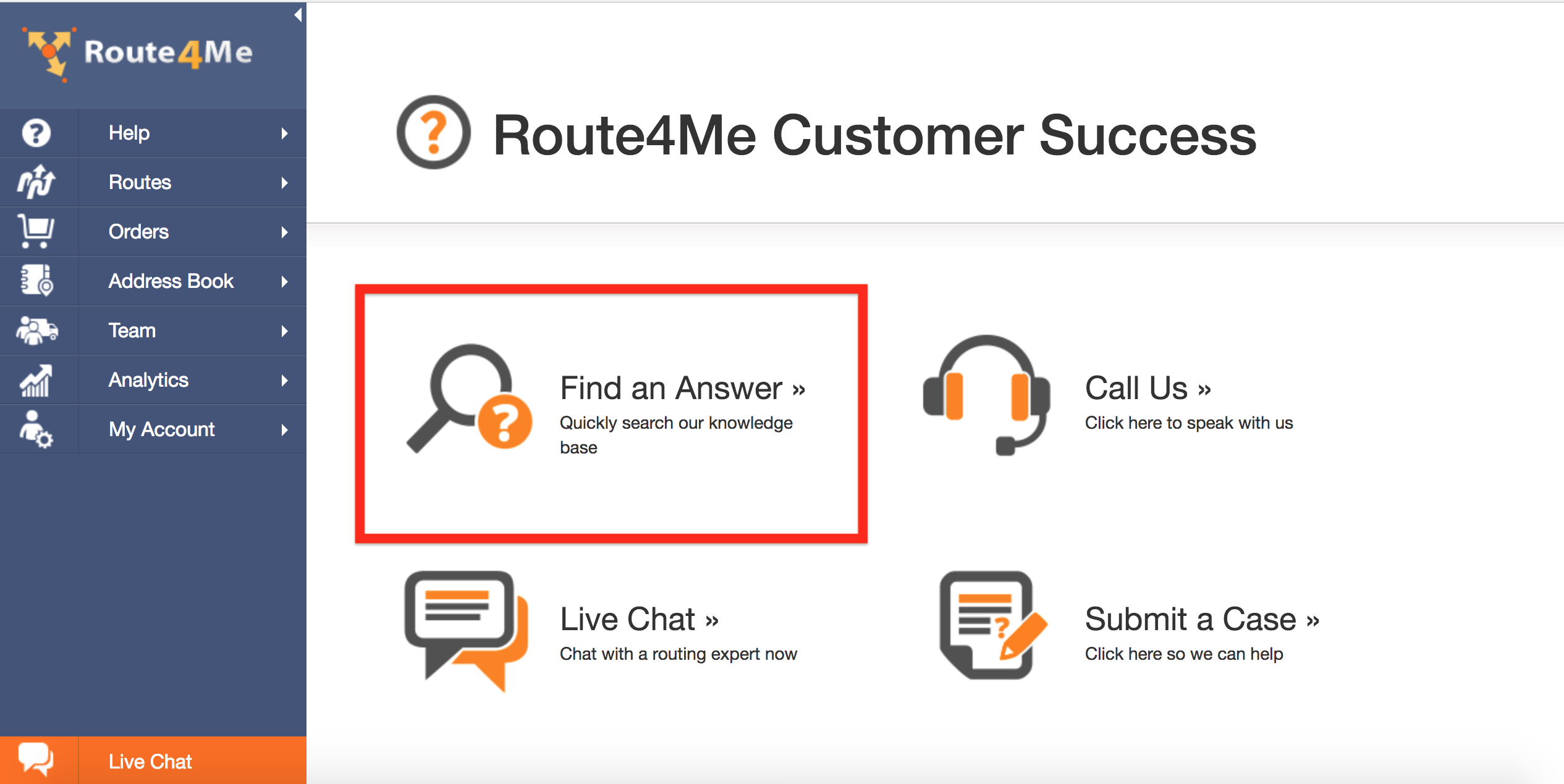 Route4Me's Customer Success Department