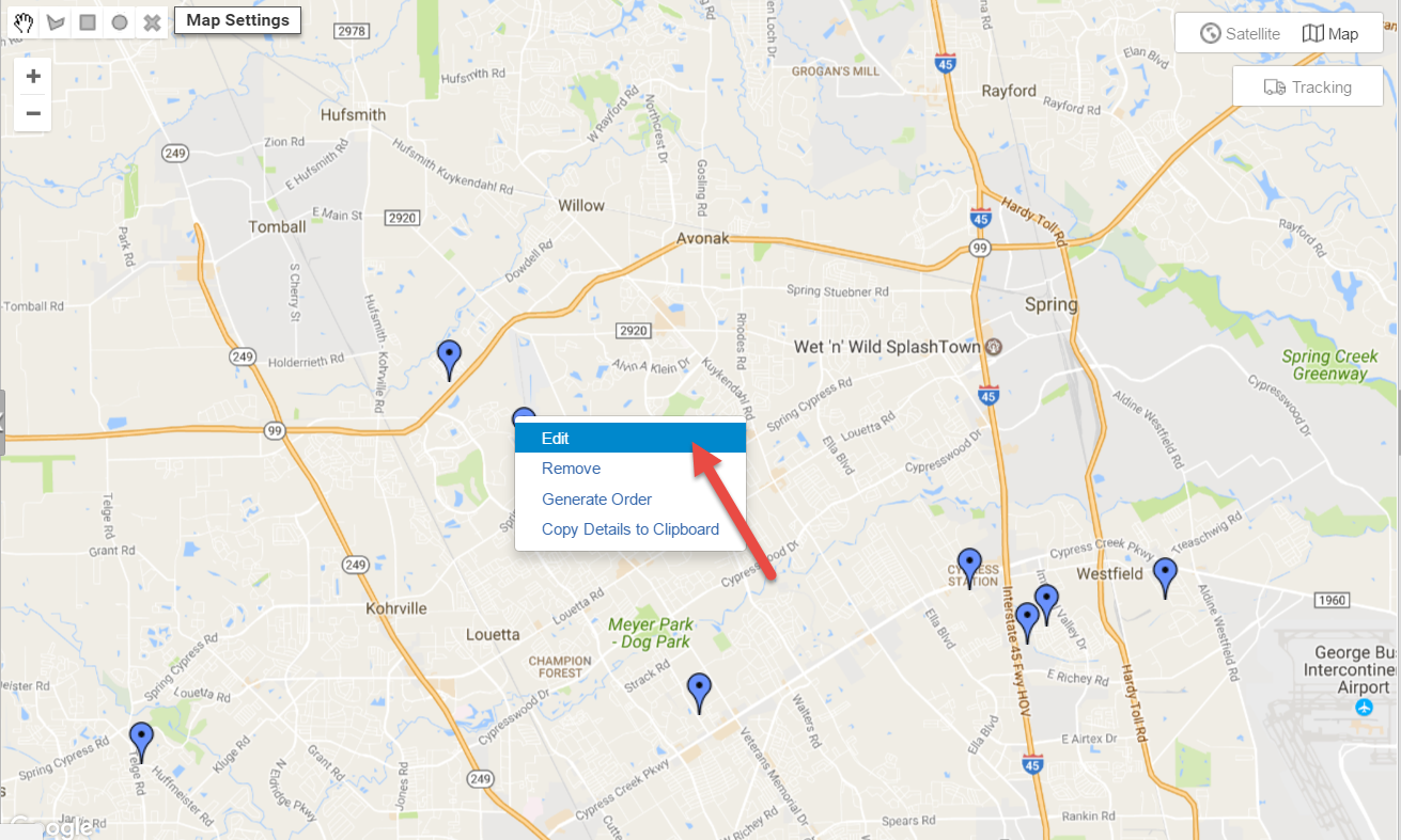 Route4Me is route mapping software that can manually color code your contacts