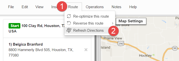 Easy route optimization when you can refresh route directions with Route4Me