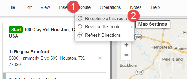 Dynamic routing is possible with Route4Me's reoptimization