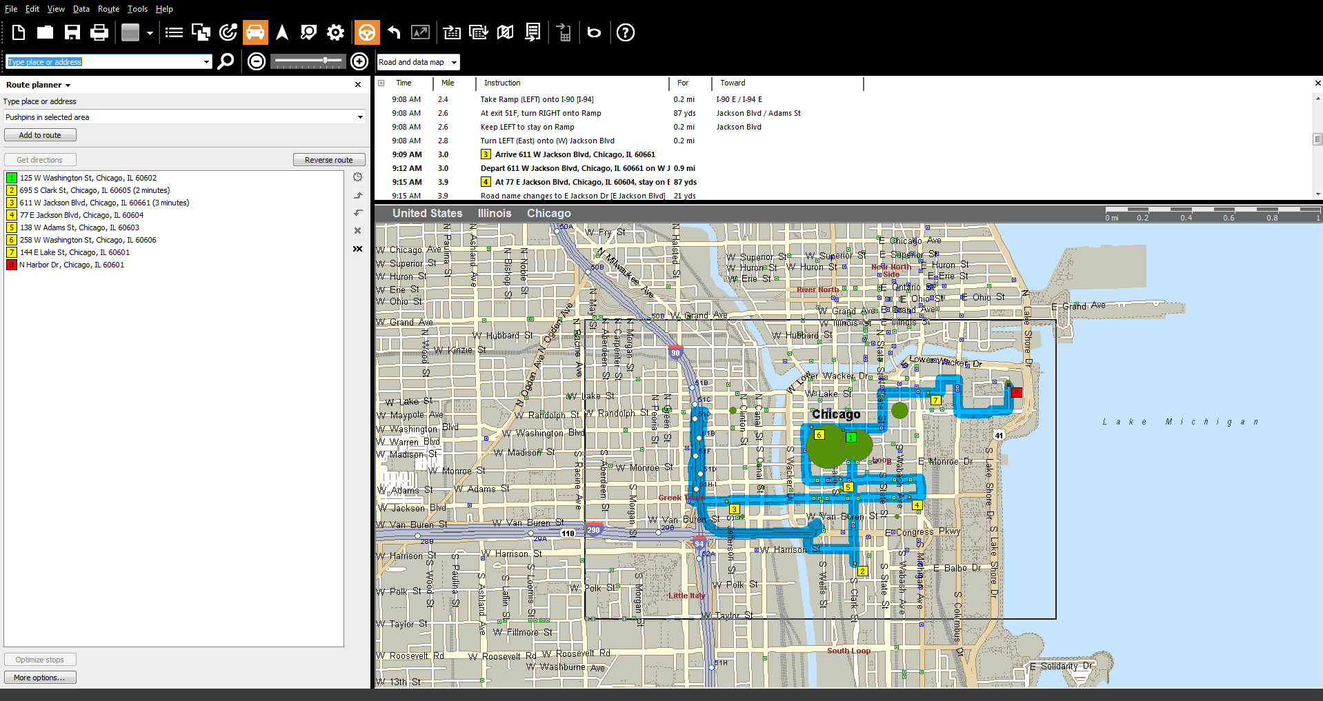 Change your vehicle route planning from MapPoint to Route4Me