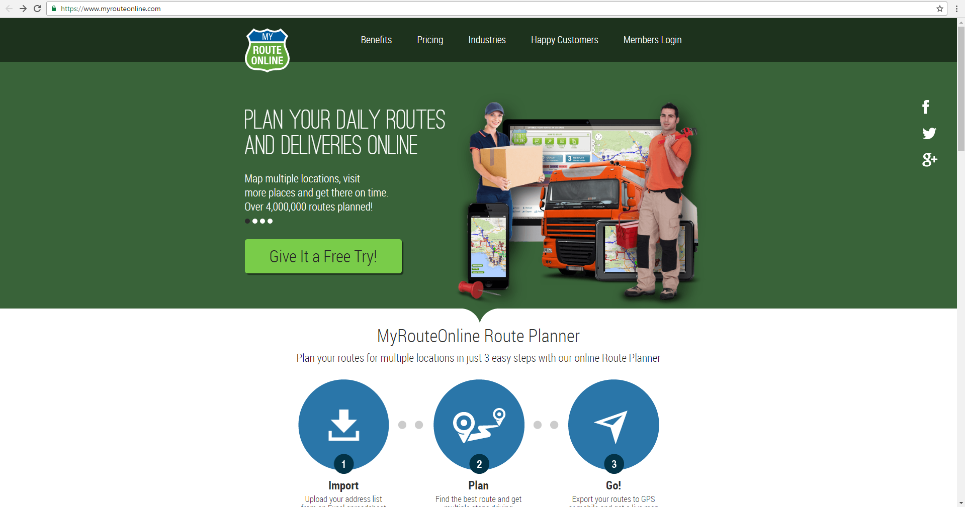 Change your vehicle route planning from MyRouteOnline to Route4Me