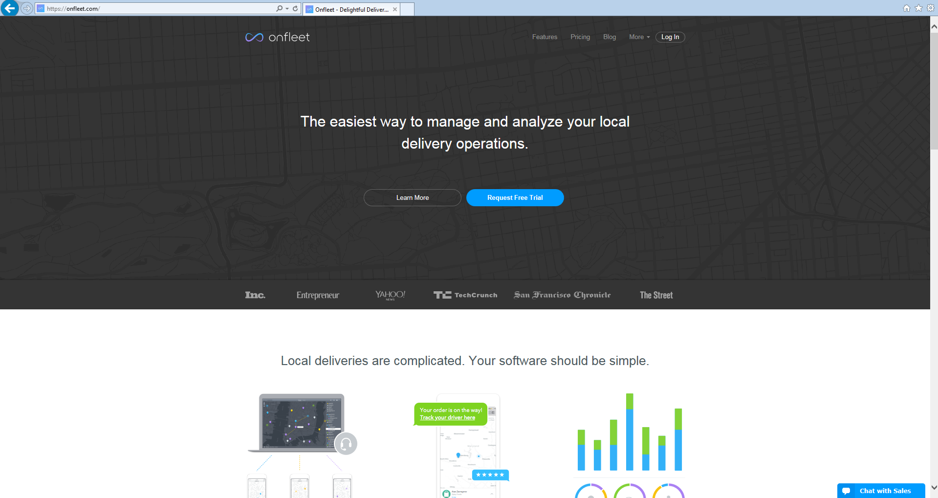 Switch to route optimization software Route4Me from Onfleet