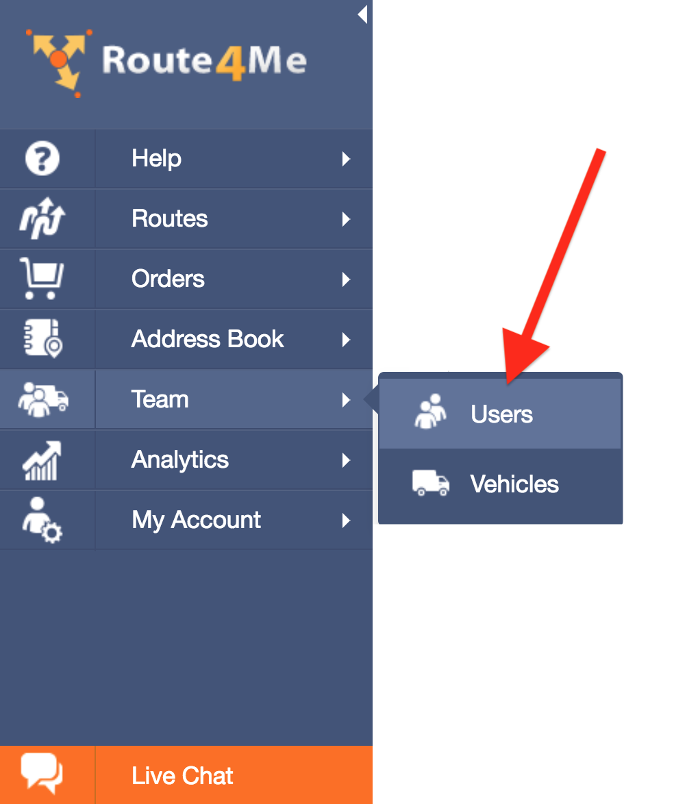 Create and Manage Users with Route4Me - The Best Route Planner