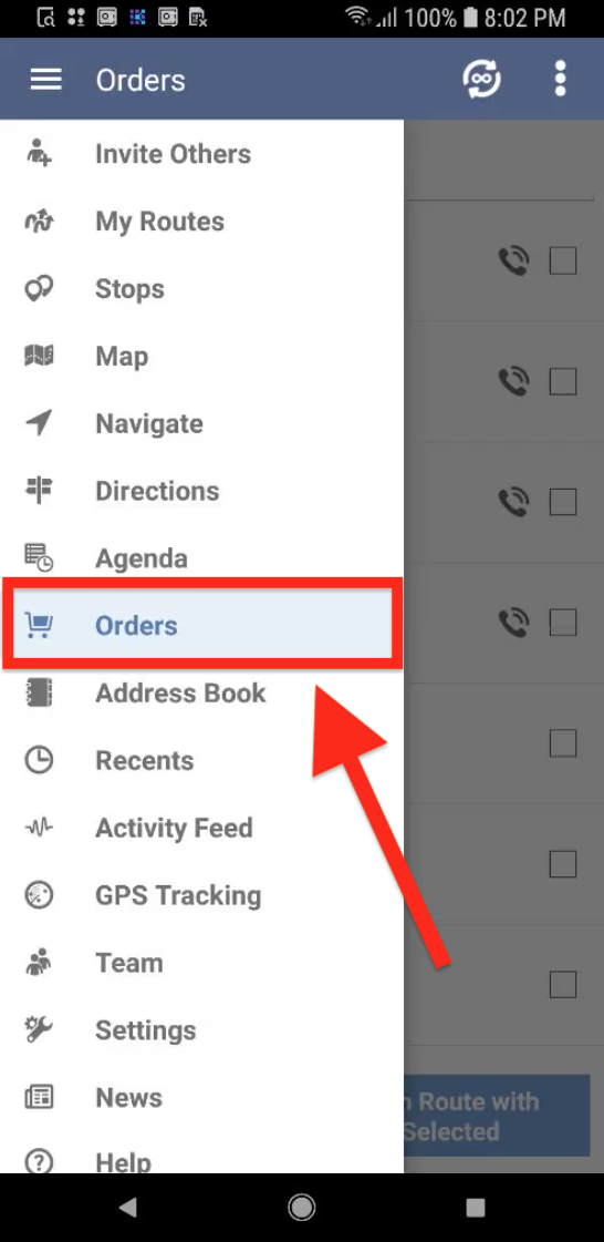Insert Orders into Current routes Easily with Route4Me