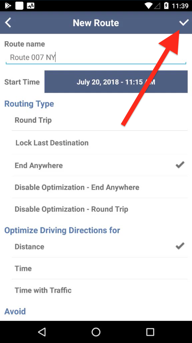 Planning Routes is Easy with Route4Me's Android App