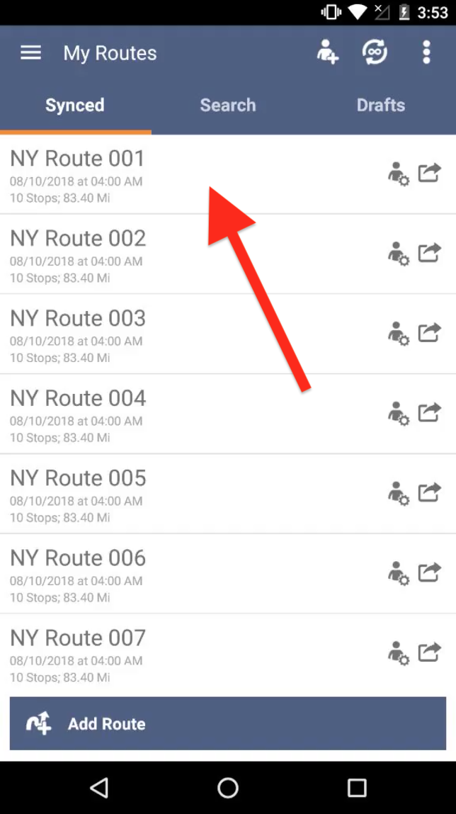 Add Routes to Third-Party Calendars on your Android Device with Route4Me - the Best Route Planner