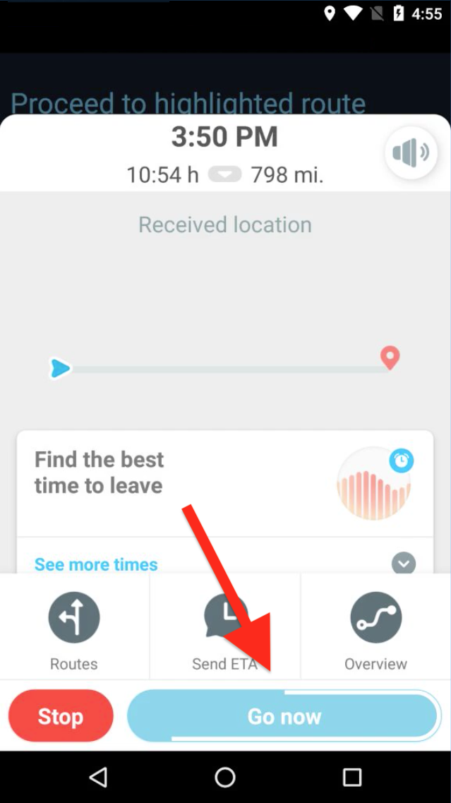 Navigating Routes on an Android Device Using Third-Party Voice-Guided Navigation Applications