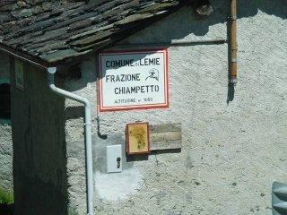 Foto 1 di Rustico / Casale Chiampetto, Lemie