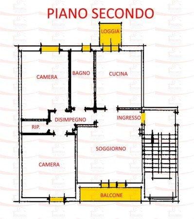 Foto 13 di Quadrilocale via Anacleto Cavina, 1, Imola