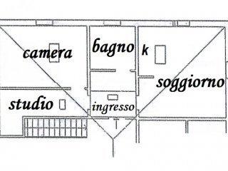 Foto 1 di Trilocale Via Calamosco, Bologna