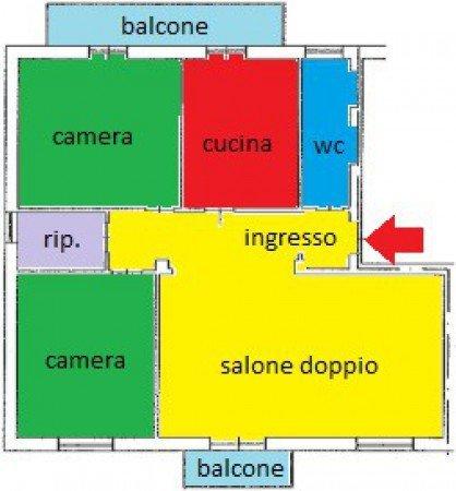 Foto 21 di Appartamento via Duca d'Aosta 2, Asti
