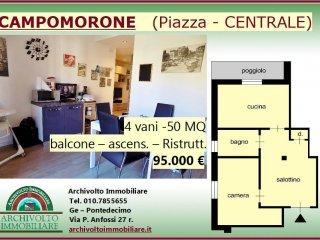 Foto 1 di Bilocale piazza Guglielmo Marconi, Campomorone