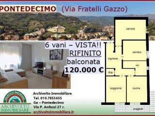 Foto 1 di Trilocale via Val d'Astico, Genova (zona Pontedecimo)