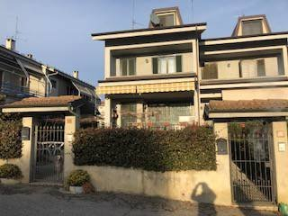 Foto 1 di Villetta a schiera via Quintino Sella 21, San Damiano D'asti