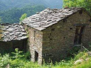 Foto 1 di Rustico / Casale Localita' Vaccera 6, frazione Pomeano, Pramollo