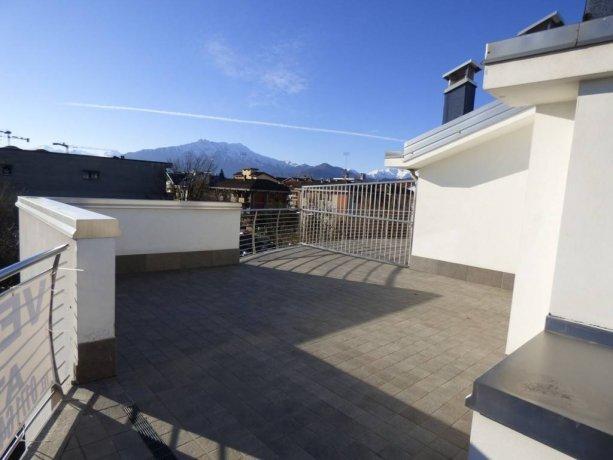 Cuneo, in nuova costruzione ultimi due attici con terrazze