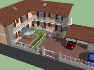 Foto 1 di Trilocale via Piemonte 15, Trana