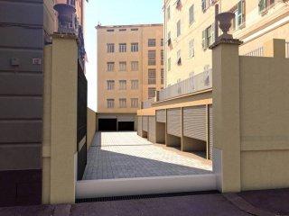 Foto 1 di Box / Garage piazza Manzoni 12, Genova (zona Marassi-Staglieno)