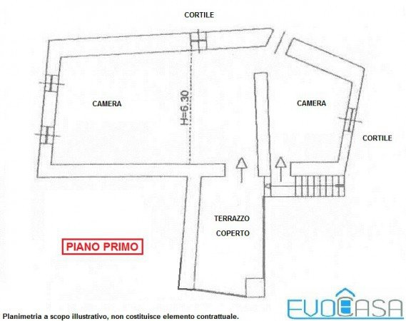 Foto 21 di Rustico / Casale Frazione Castel del Bosco 118, Roure