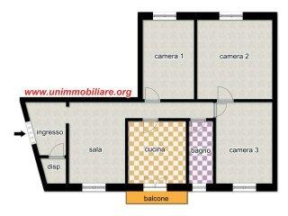 Foto 1 di Appartamento via Cornigliano, Genova (zona Cornigliano)