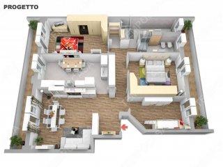 Foto 1 di Appartamento via Byron, Bologna (zona Corticella)