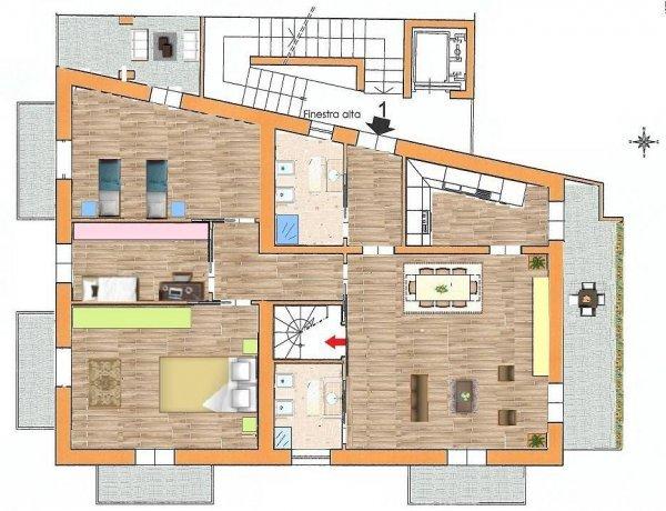 Foto 10 di Appartamento via Montebello, Pinerolo