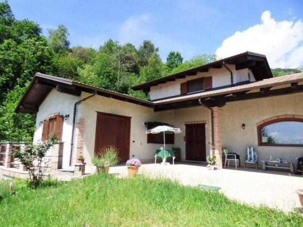 Villar San Costanzo, villa indipendente con vista favolosa via Foresti