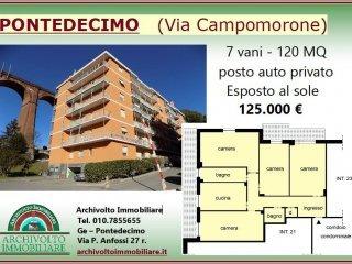 Foto 1 di Quadrilocale via Campomorone, Genova (zona Pontedecimo)