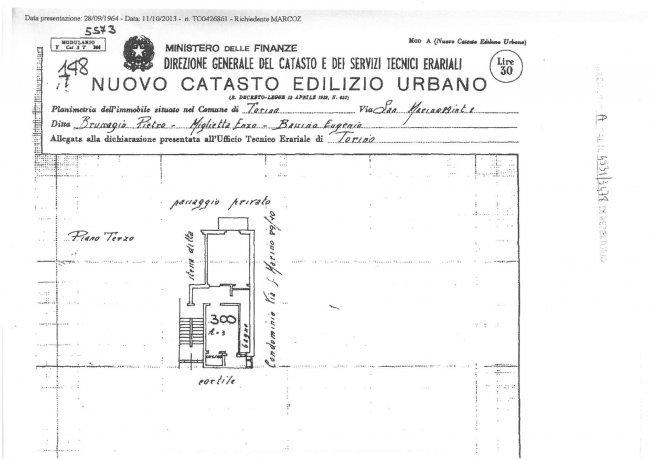 Foto 13 di Bilocale via San Marino 89 interno 8, Torino (zona Santa Rita)