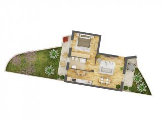 Foto 1 di Bilocale via Astrua, 47, Val Della Torre