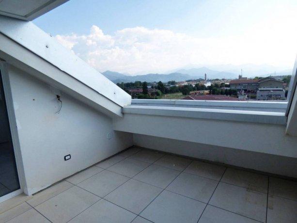 Cuneo, nuova mansarda con terrazzo in classe A