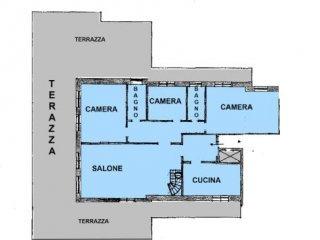 Foto 1 di Attico / Mansarda Immobiliare Goich Via Montenotte 72 r SV019802468, Savona