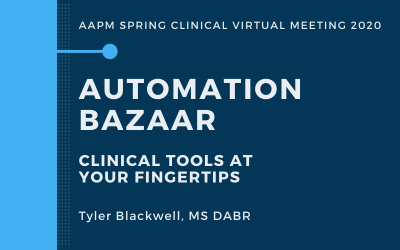 ICYMI: Virtual Spring Clinical Presentation on Automation Solutions