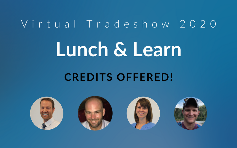 Virtual Tradeshow Lunch and Learn, Credits Offered