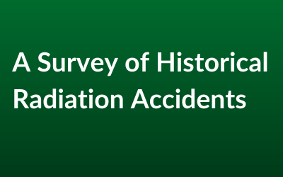 A Survey of Historical Radiation Accidents