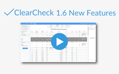 ClearCheck 1.6 New Features Webinar