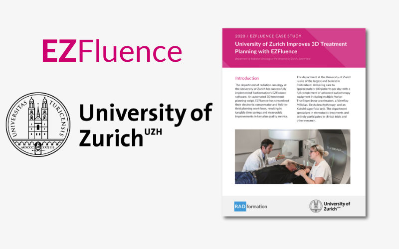 University of Zurich EZFluence Case Study