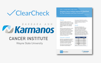 Karmanos ClearCheck Case Study