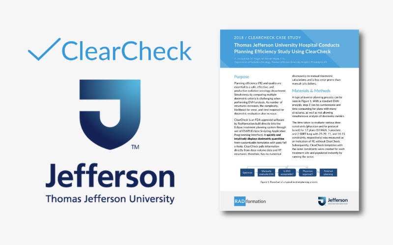 Thomas Jefferson ClearCheck Case Study