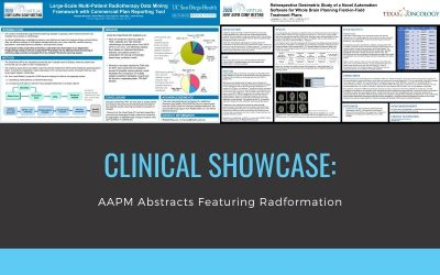 Clinical Showcase: AAPM Abstracts Featuring Radformation Software