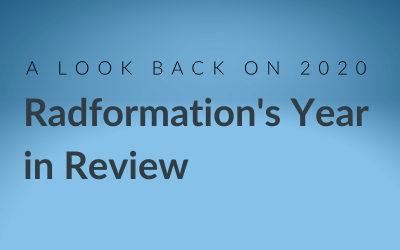 Radformation's 2020 Year in Review