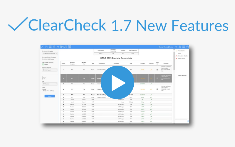 ClearCheck 1.7 New Features Webinar