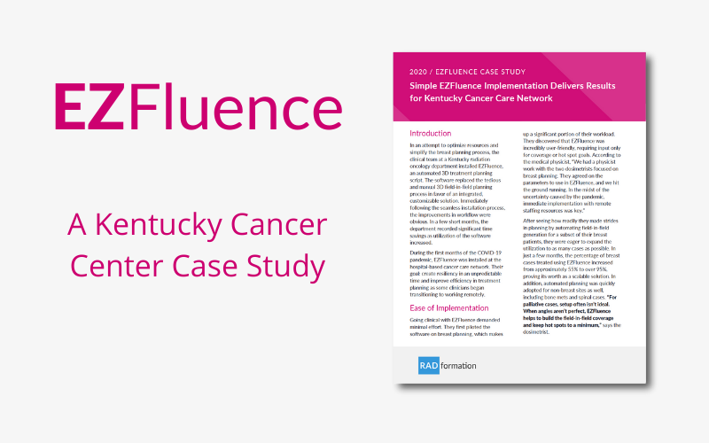 Simple EZFluence Implementation Delivers Results for Kentucky Cancer Care Network