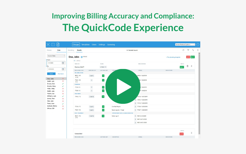Improving Billing Accuracy and Compliance: The QuickCode Experience Webinar