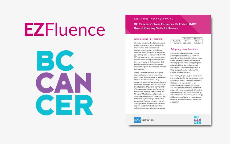 BC Cancer-Victoria EZFluence Case Study