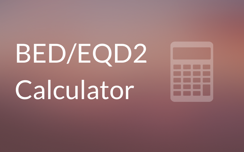 BED Calculator