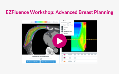 EZFluence Workshop: Advanced Breast Planning