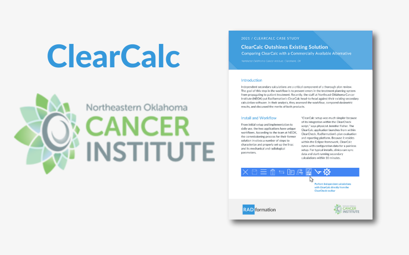 NEOK ClearCalc Case Study