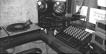De studio in 1981